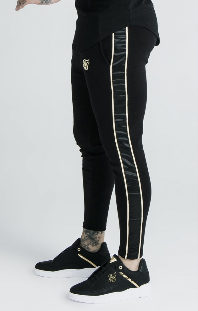 Dani Alves Athlete Branded Track Pants – Black