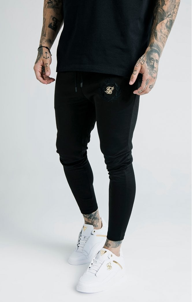 SikSilk x Dani Alves Athlete Track Pants – Black - ZANMODA