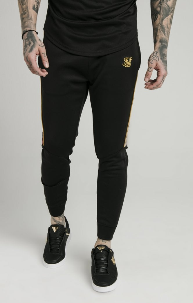 Dani Alves Cuffed Panel Jogger - Black