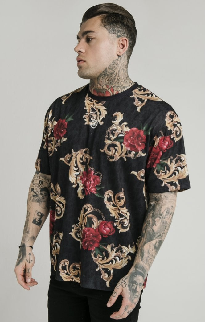 Dani Alves Essential Tee - Floral Animal