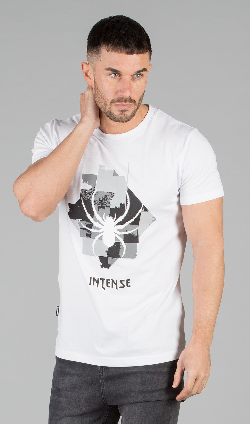 Smoke T-Shirt  White - ZANMODA