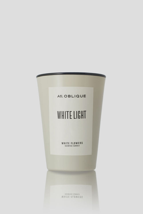 WHITE LIGHT HANDMADE SCENTED CANDLE