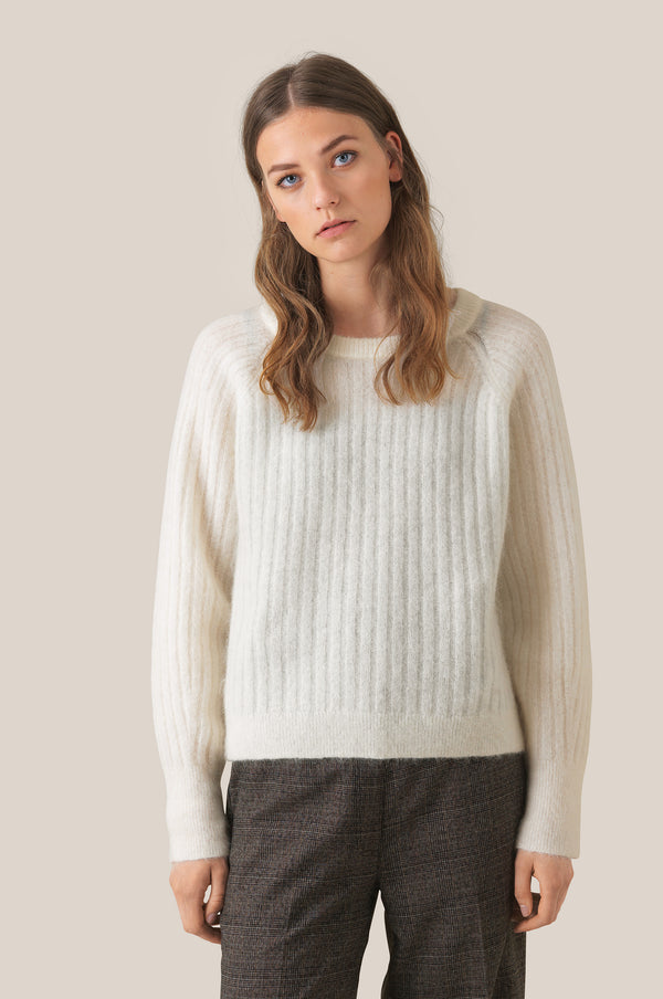 Brook Knit Cropped O-Neck