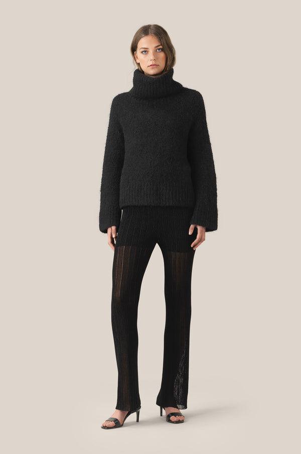 Lepus Knit HW Trousers