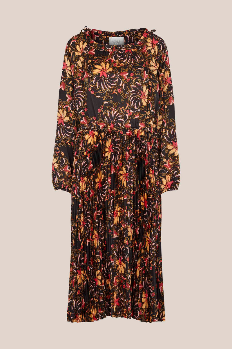 Power LS Maxi Dress