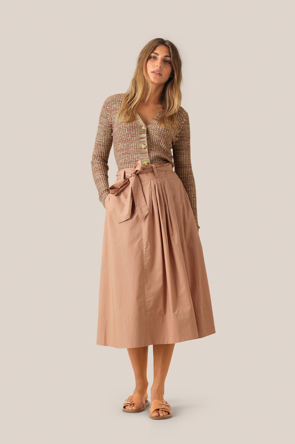 Phoebe HW Wrap Skirt