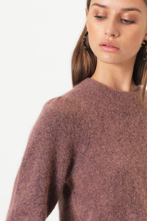 Brooky Knit Volumen O-Neck
