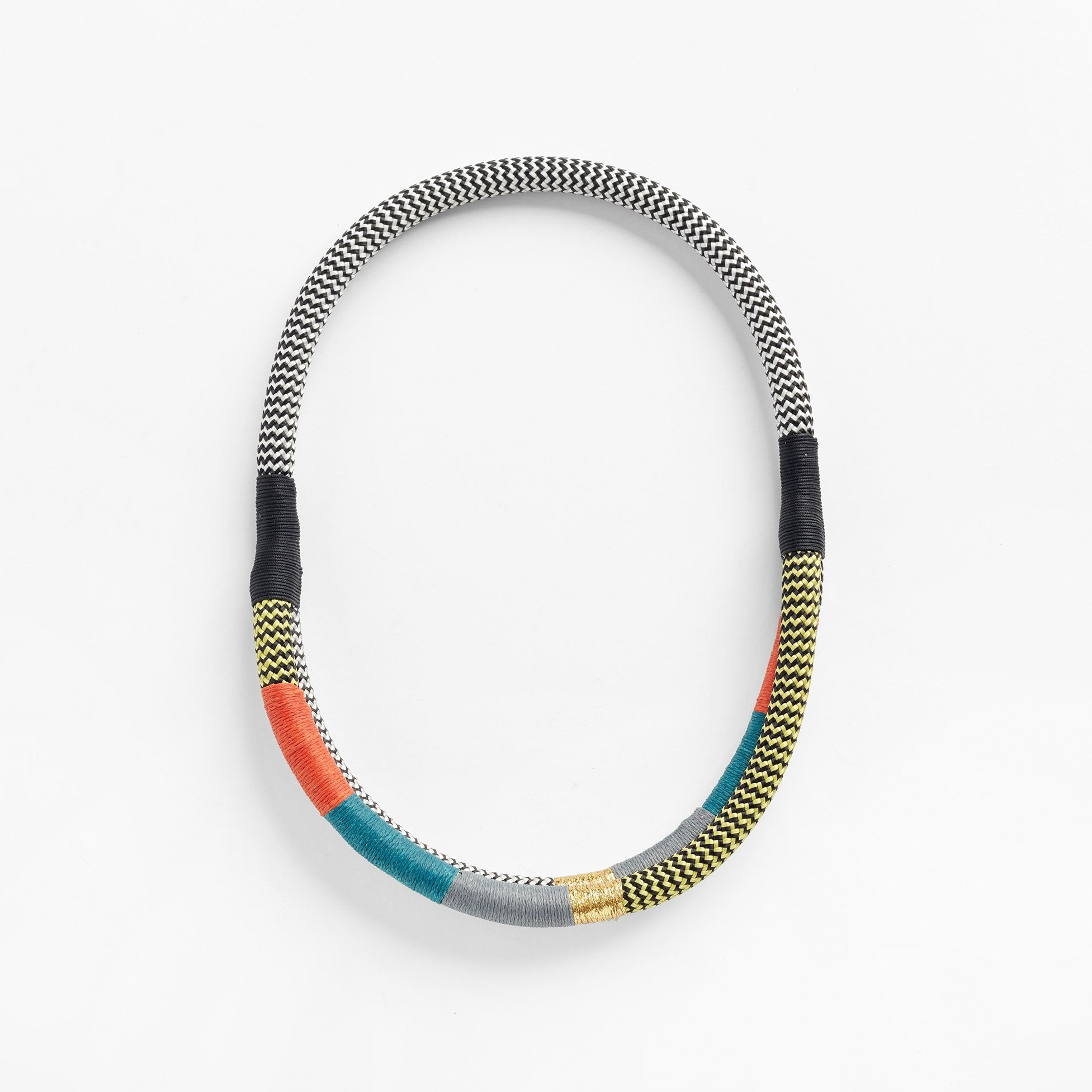 Double Ndebele Spice African necklace