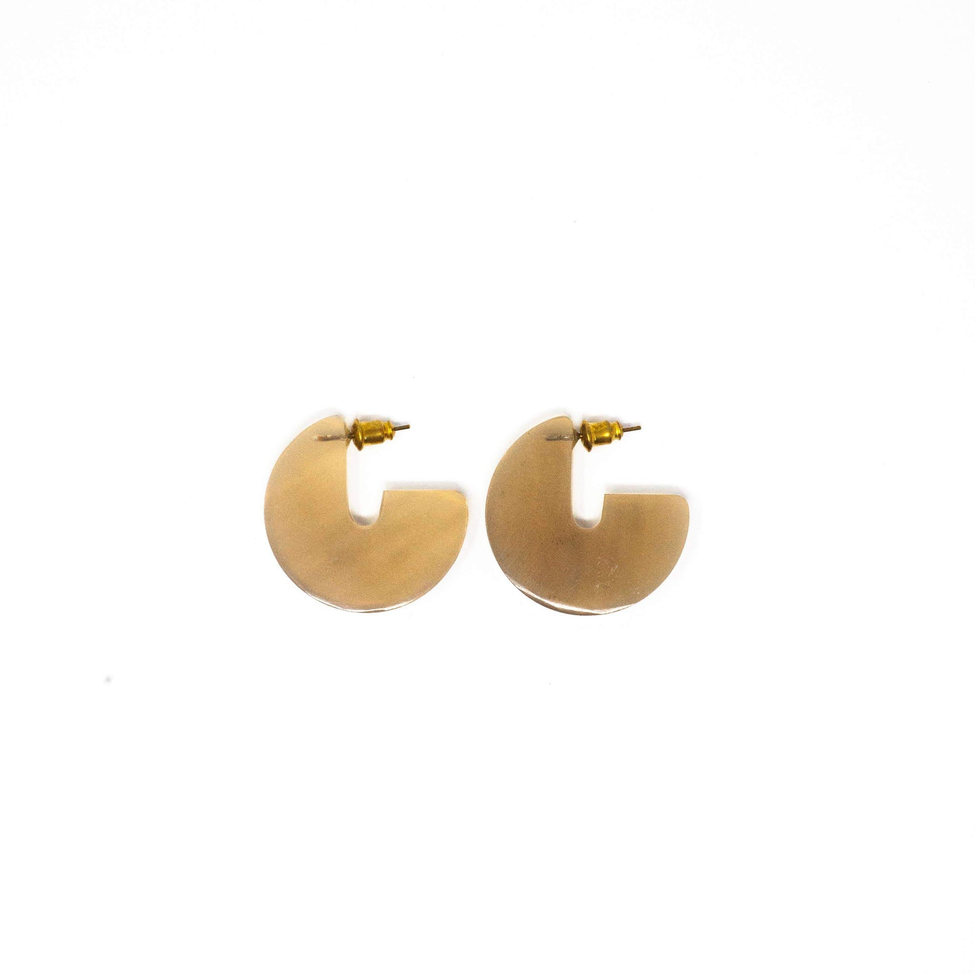 Rover & Kin Horn Disc Earrings