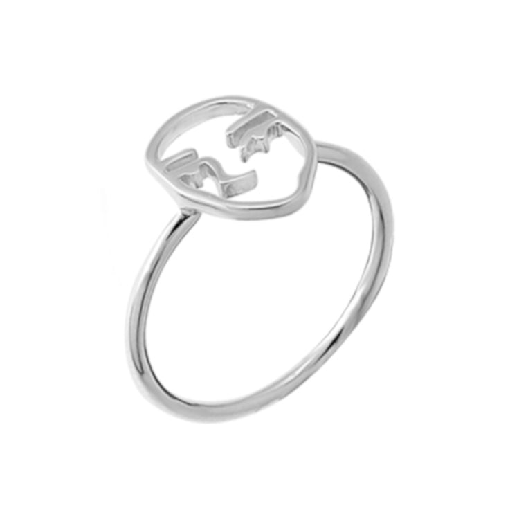 sterling silver picasso ring