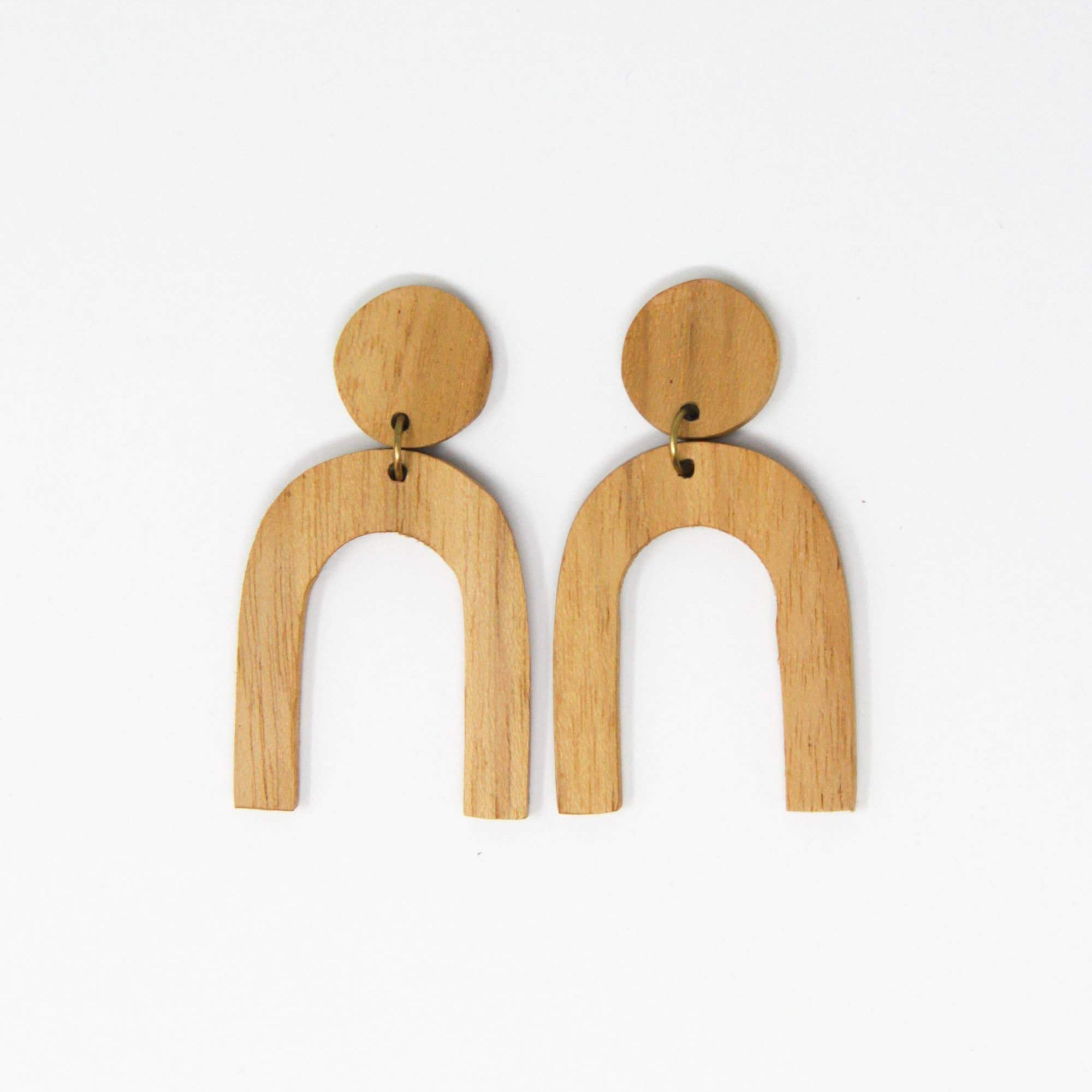 Rover & Kin Mango Modern Shapes Earrings