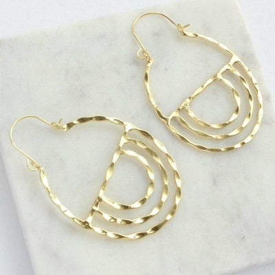 Fair Anita - Altar Hoop Earrings