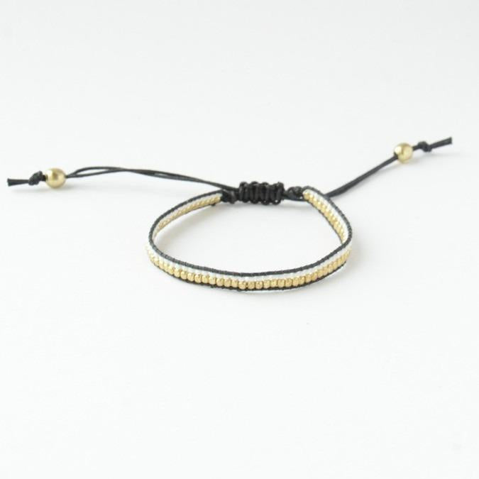 Fair Anita - Sunita Beaded Bracelet - Black
