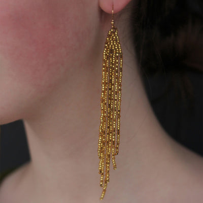 Sand Earrings by Kimber Elements