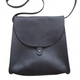 Handcrafted versatile full grain leather bag ethically made by Haiti Design Co in Haiti
