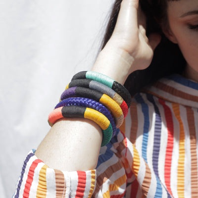 Thin Ndebele Bracelet By Pichulik