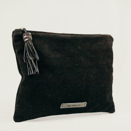 Haiti Design Co Leather Traveler's Pouch