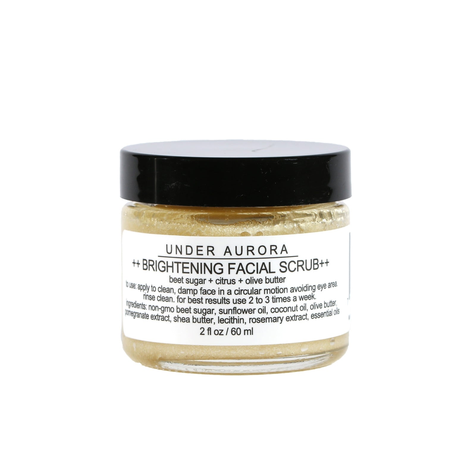 Under Aurora - Brightening Facial Scrub