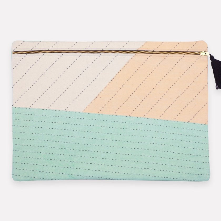 Anchal - Large Mint Pouch