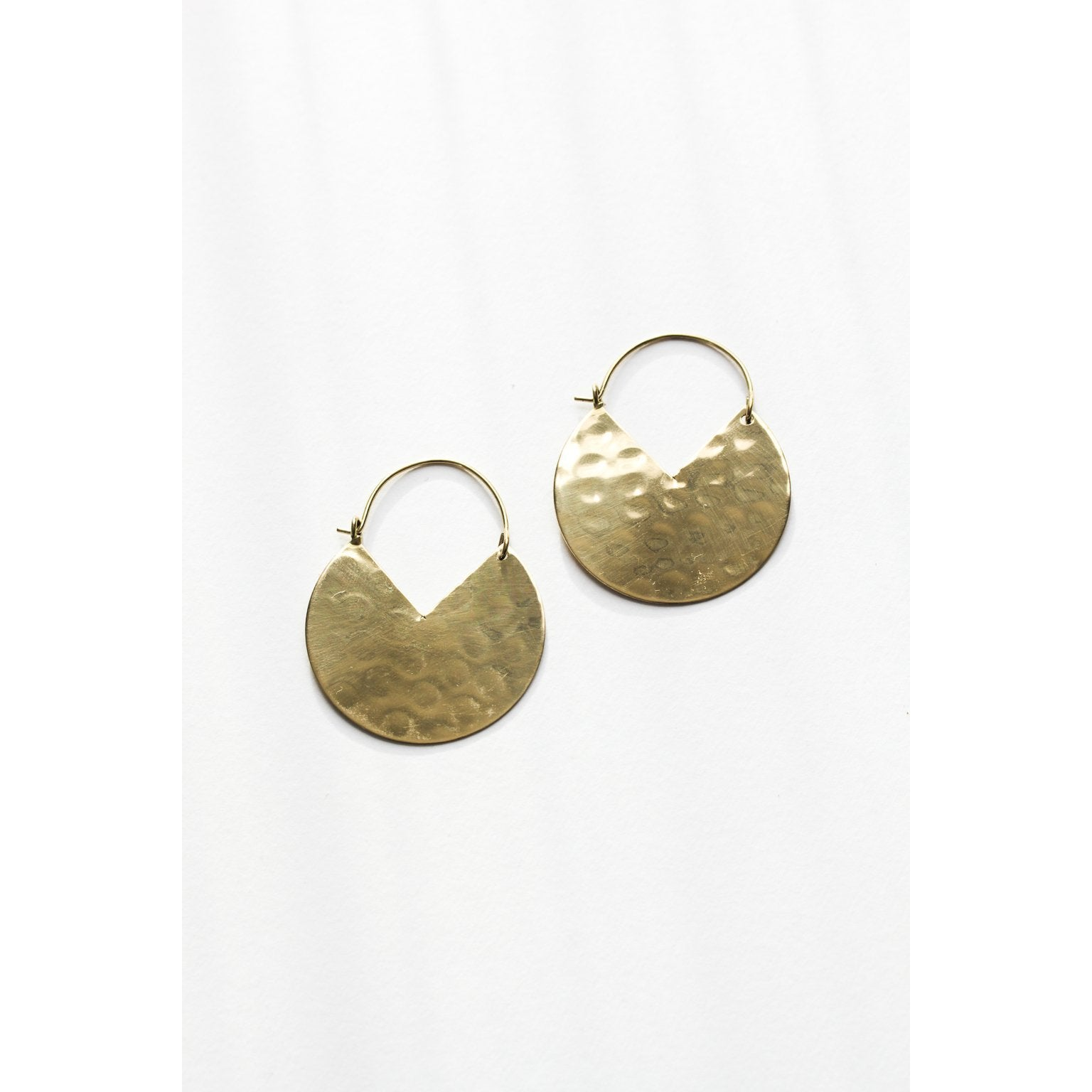 Rover & Kin Large Pacman Hoops Earrings