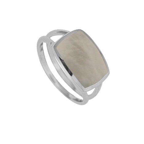 Boma sterling silver mother of pearl ring
