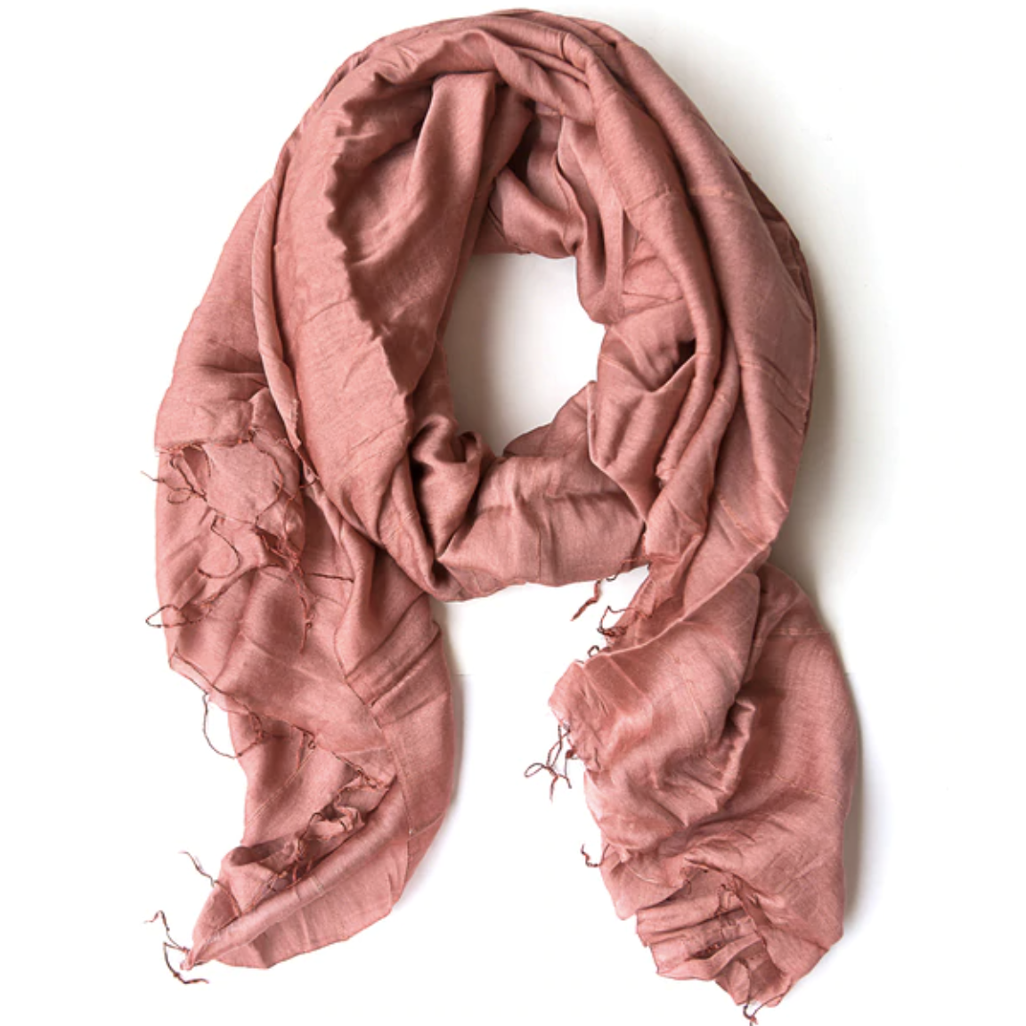 Lan Scarf in Dusty Rose by Fair Anita