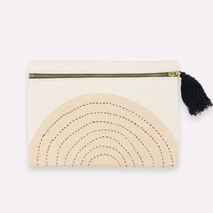 Anchal - Small Ivory Eclipse Pouch