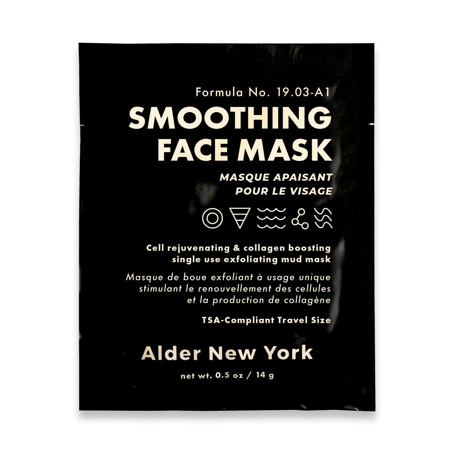 Alder New York Single Use Smoothing Face Mask