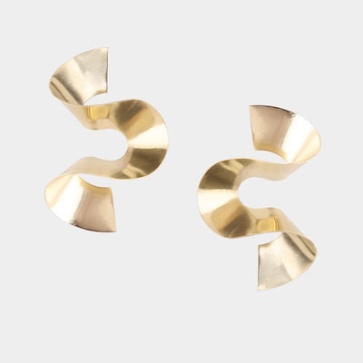Soko Maxi Twisted Sia Stud Earrings