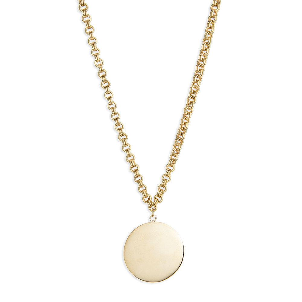 Soko Medallion Pendant Necklace