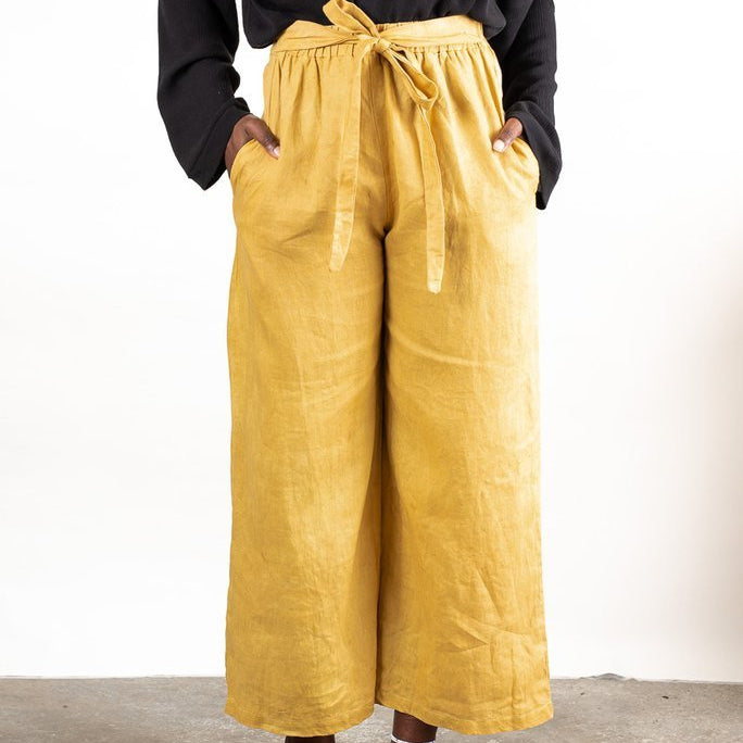 Tonle sothea pants in mustard