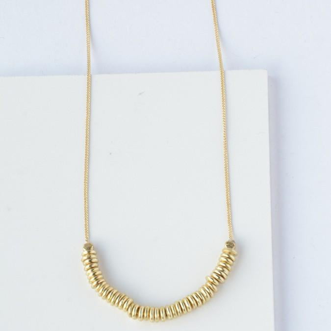 Fair Anita - Delicate Disks Necklace