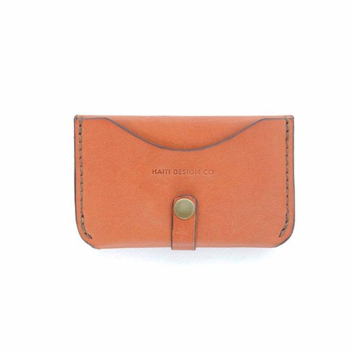 Haiti Design Co - Mini Leather Snap Wallet