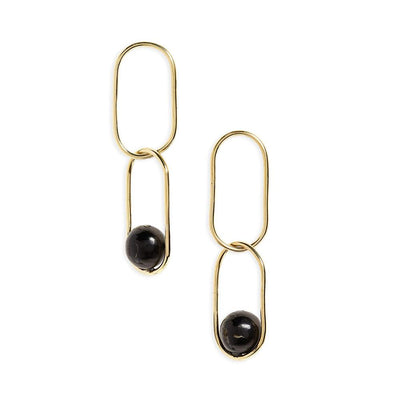 Soko - Large Linked Sawa Drop Earrings