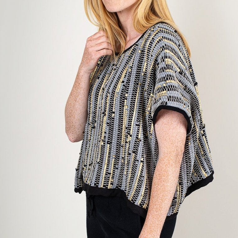 Handwoven Sweater Top - By Tonle