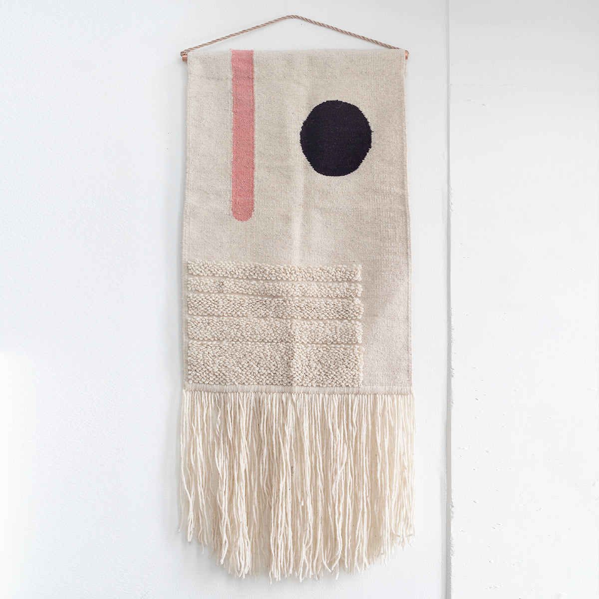 "TAPESTRY HAND WOVEN WALL HANGING ""EL SOL"" BY CURA COLLECTION"