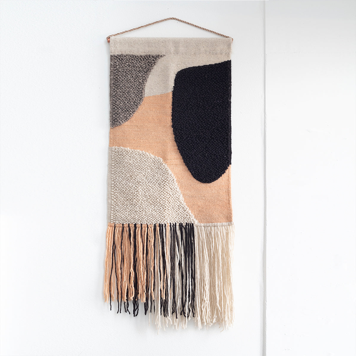 "TAPESTRY HAND WOVEN WALL HANGING ""FLOW"" BY CURA COLLECTION"