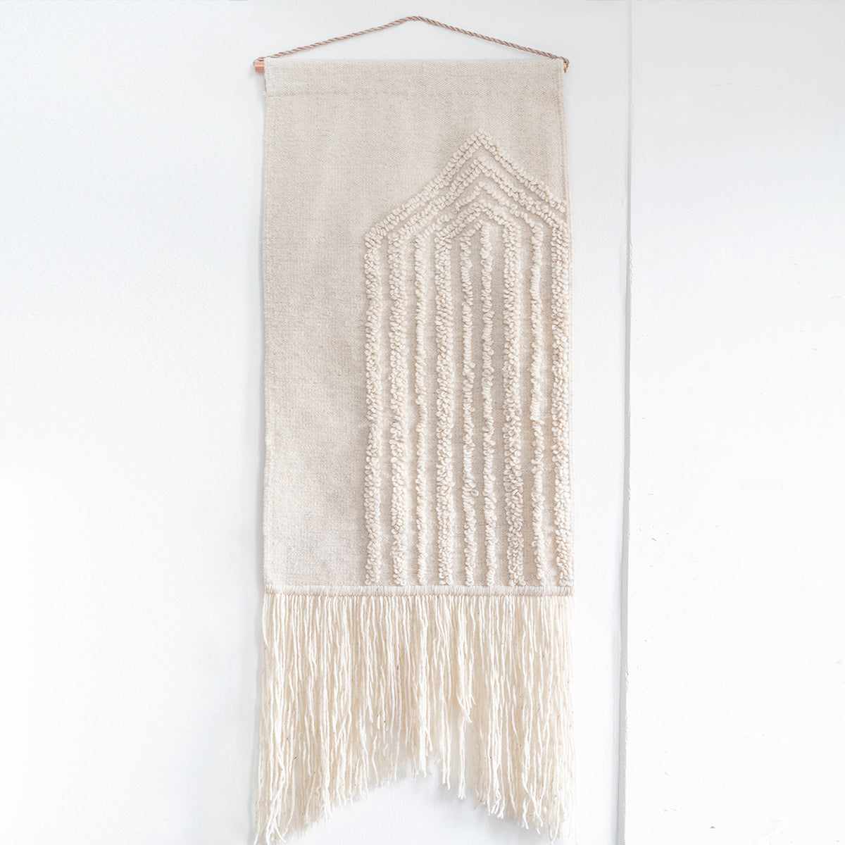 "TAPESTRY HAND WOVEN WALL HANGING ""San Miguel"" BY CURA COLLECTION"