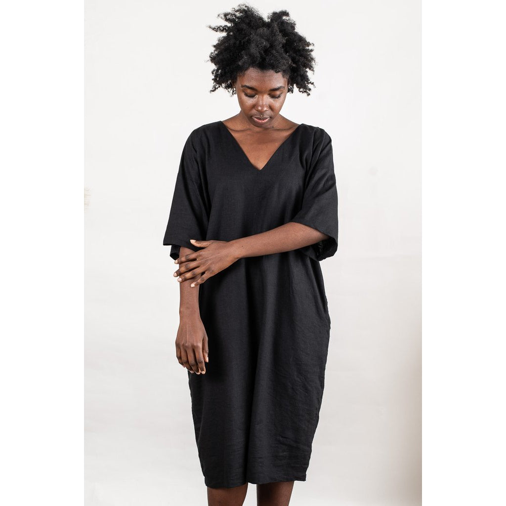Tonle Veha Dress- Black