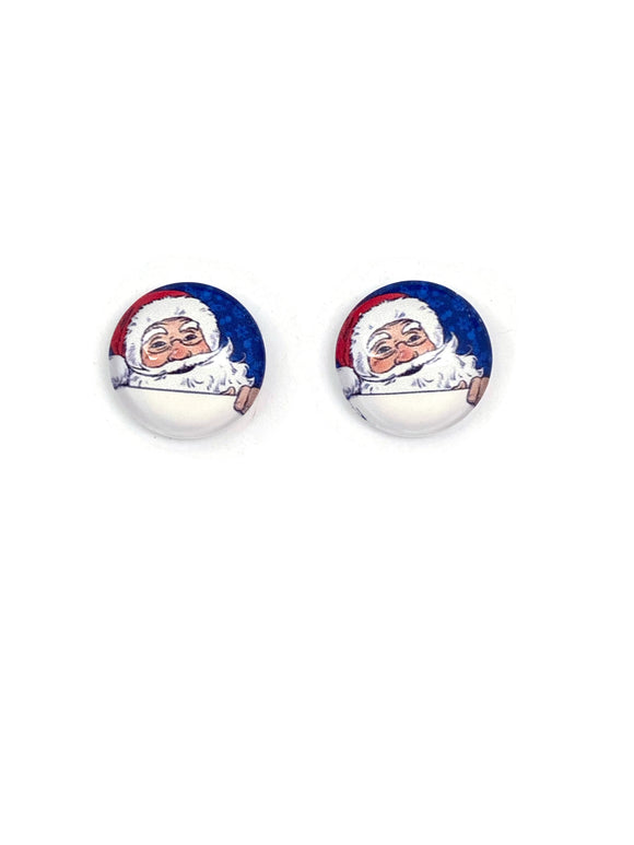 Santa Stud Earrings