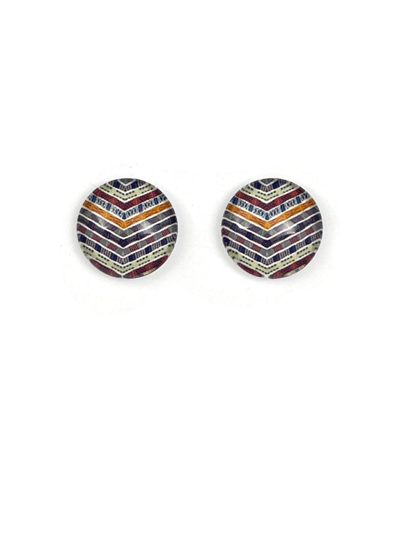 Aboriginal Art Stud Earrings