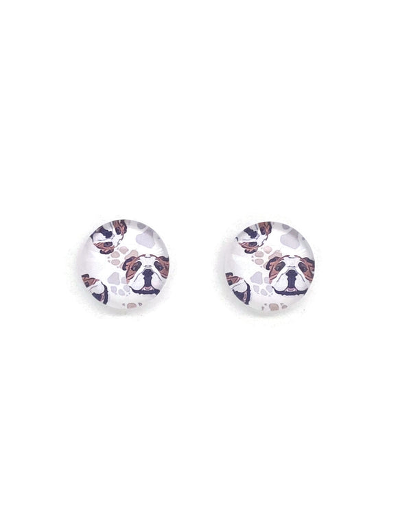 Bulldogs Stud Earrings