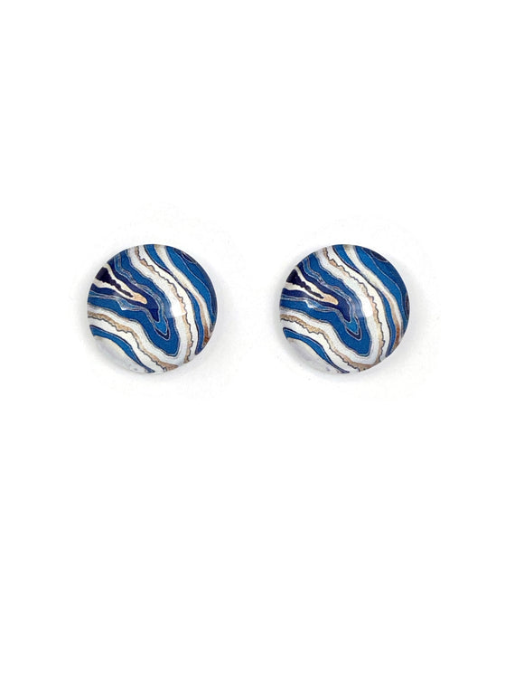 Abstract Art Stud Earrings