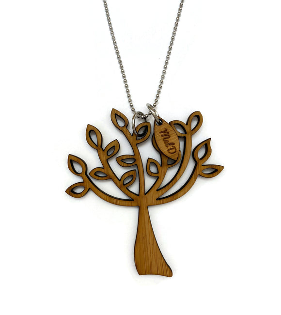 Bamboo Tree Of Life Necklace (#2)