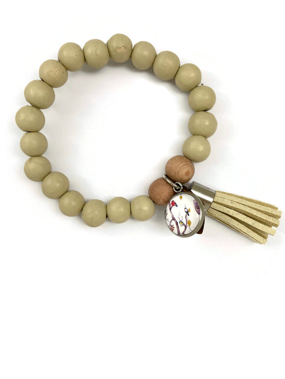 Milan Bracelets - Country Grey (Cream)