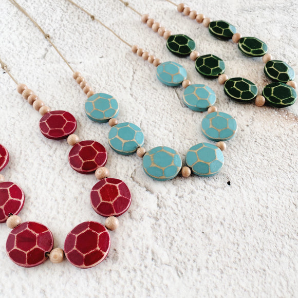 Maya Necklace - Available in a variety of colours