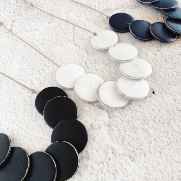 Minette Necklace - Available in a variety of colours
