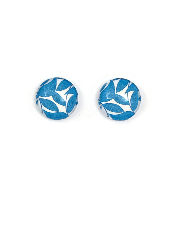 Leaves Stud Earrings