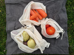 Organic Cotton Fruit and Veggie Bags