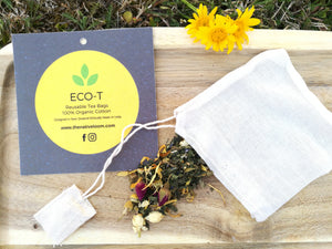 Eco-T Reusable Tea Bag-Set of 4